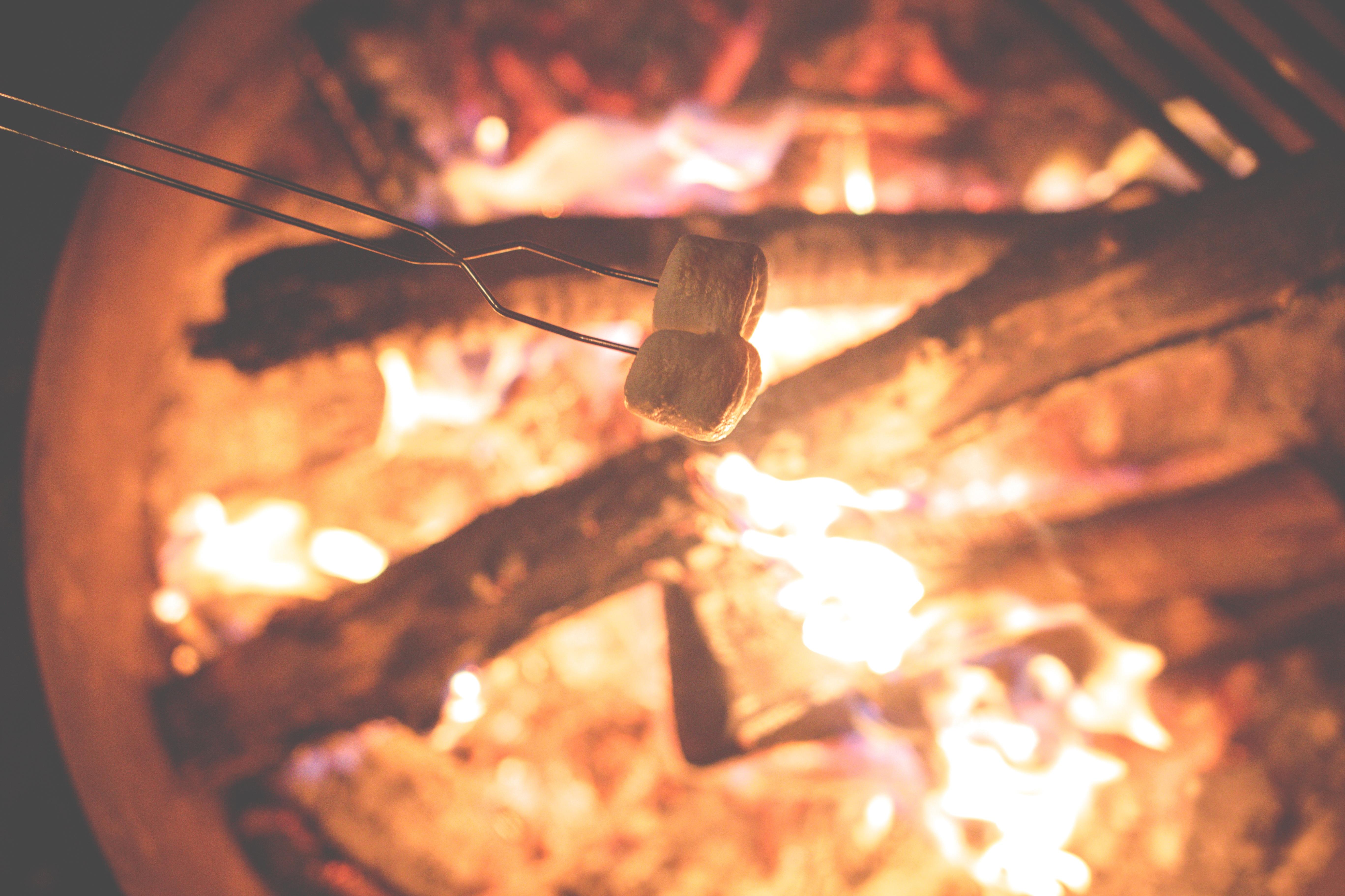 adonai camping bonfire